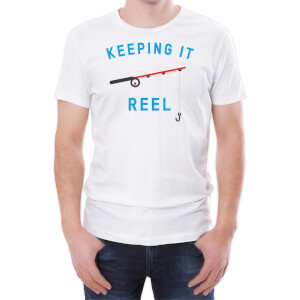 Keeping It Reel Men's White T-Shirt