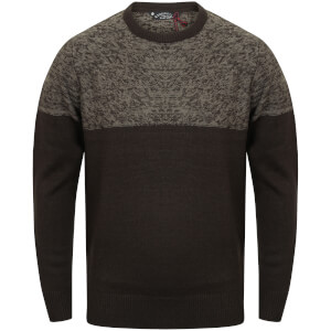Kensington Men's Crew Neck Jumper - Black
