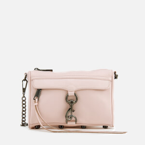 Rebecca Minkoff Women's Mini M.A.C. Cross Body Bag - Soft Blush