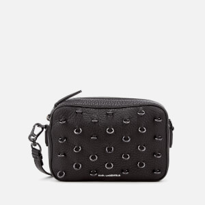 Karl Lagerfeld Women's K/Piercing Small Cross Body Bag - Black/Black