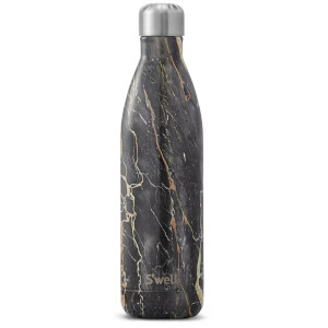 S'well The Bahamas Gold Marble Water Bottle 750ml
