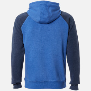 Tokyo Laundry Men's Arapaho Forest Zip Through Hoody - Indigo Marl: Image 2