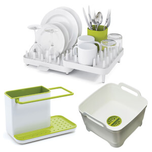 Joseph Joseph Washing Up Starter Set - White