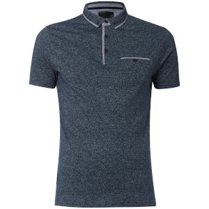 Polo Homme Herald Dissident - Bleu Marine