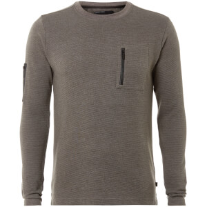 Dissident Men's Facade Sweatshirt - Grey