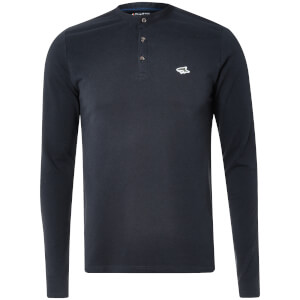 Le Shark Men's Highbury Buttondown Long Sleeve Top - True Navy