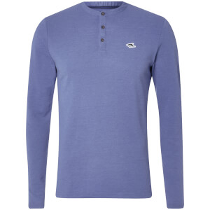 Le Shark Men's Highbury Buttondown Long Sleeve Top - Cornflower