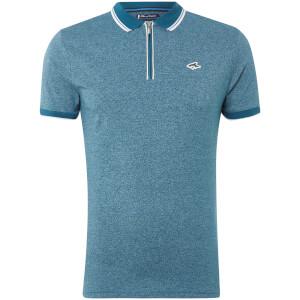 Le Shark Men's Holmdale Zip Polo Shirt - Kingfisher