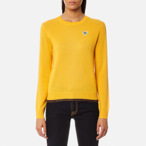 Coach Women's Crew Neck Sweatshirt - Marigold