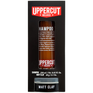 Uppercut Deluxe Shampoo and Matt Clay Duo