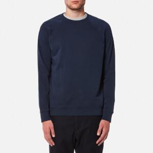YMC Men's Schrank Raglan Sweatshirt - Navy