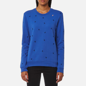 BOSS Orange Women's Tabirdy Sweatshirt - Bright Blue