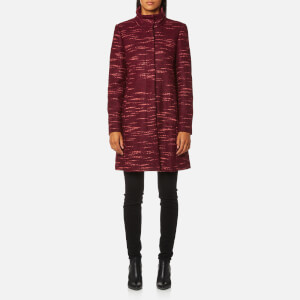 BOSS Orange Women's Okirana Coat - Dark Red