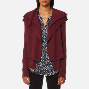 BOSS Orange Women's Wijay Cardigan - Dark Red