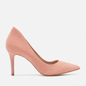 KG Kurt Geiger Women's Bella Leather Court Shoes - Nude