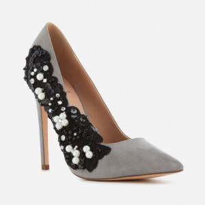 KG Kurt Geiger Women's Bounty Embellished Side Court Shoes - Grey: Image 2