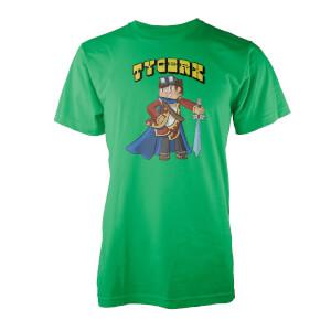 T-Shirt Tycerx Fier Conquérent -Vert