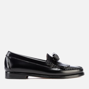 Bass Weejuns Women's Esther Bow Leather Loafers - Black