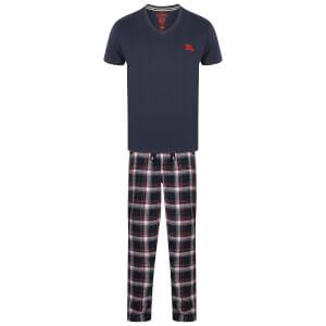 Tokyo Laundry Men's Jaspar Pyjama Set - Midnight Blue