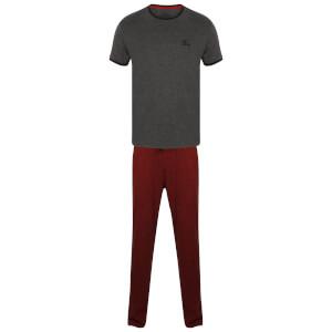 Tokyo Laundry Men's Ivor Pyjama Set - Charcoal Marl