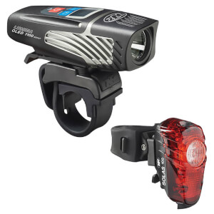 Niterider Lumina OLED 1100 Boost and Solas 100 Light Set 2017