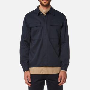 Universal Works Men's MW Chore Overshirt - Navy