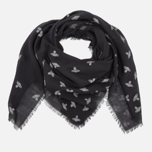 Vivienne Westwood Women's Spotted Wool Scarf - Black