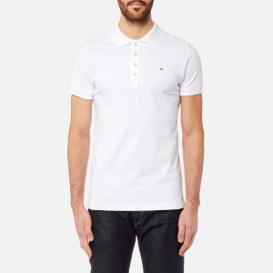 Diesel Men's Heal Polo Shirt - White