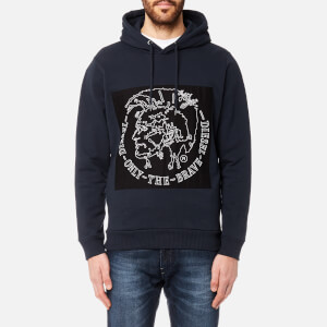 Diesel Men's Albert Hoody - Blue