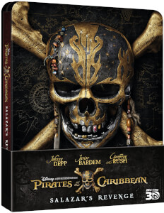 Pirates of the Caribbean: Salazars Rache Zavvi UK Exklusives Limited Edition Steelbook (Inklusive 2D Version)