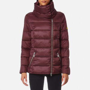 Barbour International Women's Rockingham Quilt Coat - Barolo