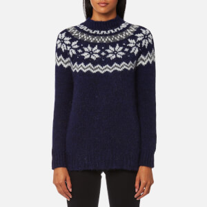 Barbour Heritage Women's Deep Blue Jumper - Blue