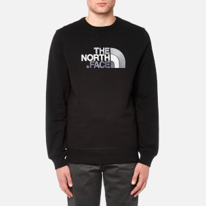 The North Face Men's Drew Peak Crew Neck Sweatshirt - TNF Black