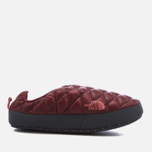 The North Face Women's Thermoball® Tent Mule IV Slippers - Shiny Barolo Red/Faded Rose