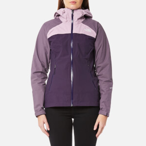 The North Face Women's Stratos Jacket - Dark Eggplant Purple/Black Plum/Purple Agate