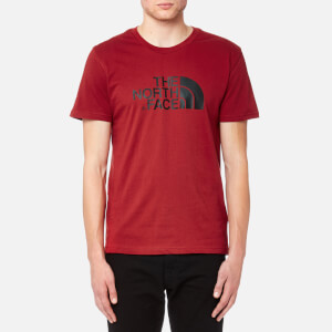 The North Face Men's Short Sleeve Easy T-Shirt - Cardinal Red