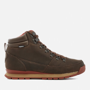The North Face Men's Back-To-Berkeley Redux Leather Boots - Carafe Brown/Ketchup Red