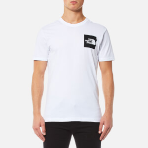 The North Face Men's Fine Short Sleeve T-Shirt - TNF White/TNF Black