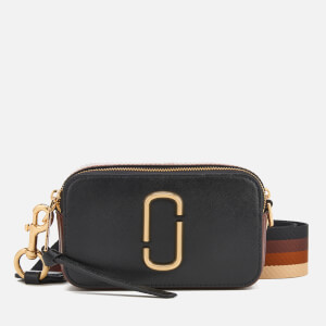 Marc Jacobs Women's Snapshot Cross Body Bag - Black/Chocolate