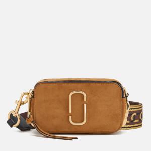 Marc Jacobs Women's Chain Snapshot Cross Body Bag - Mustard