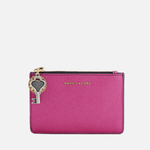 Marc Jacobs Women's Top Zip Multi Wallet - Pink