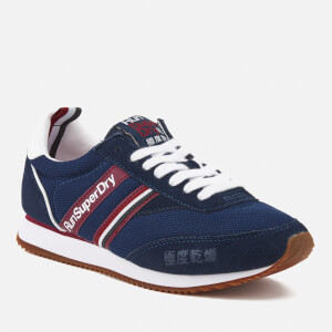 Superdry Women's Base Runner Trainers - Kremlin Navy