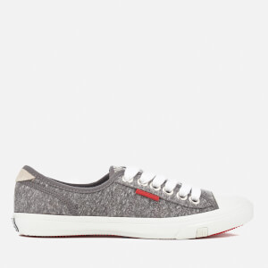 Superdry Women's Low Pro Trainers - Grey Marl