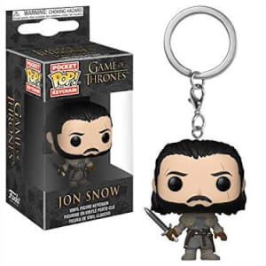 Game of Thrones Jon Snow Pocket Funko Pop! Keychain