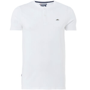 Le Shark Men's Glengall Button T-Shirt - Optic White