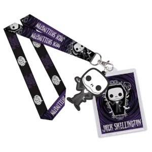 A Nightmare Before Christmas Jack Skellington Pop! Lanyard