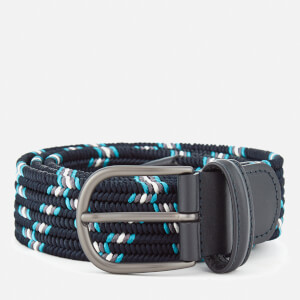 Andersons Men's Woven Fabric Belt - Navy
