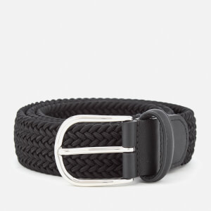 Andersons Men's Core Woven Fabric Belt - Black