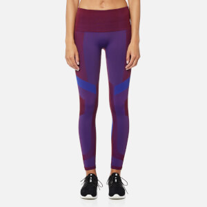 LNDR Women's Vortex Seamless Full Length Leggings - Burgundy