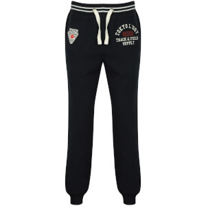 Tokyo Laundry Men's Red Lake Falls Cuffed Sweatpants - Dark Navy
